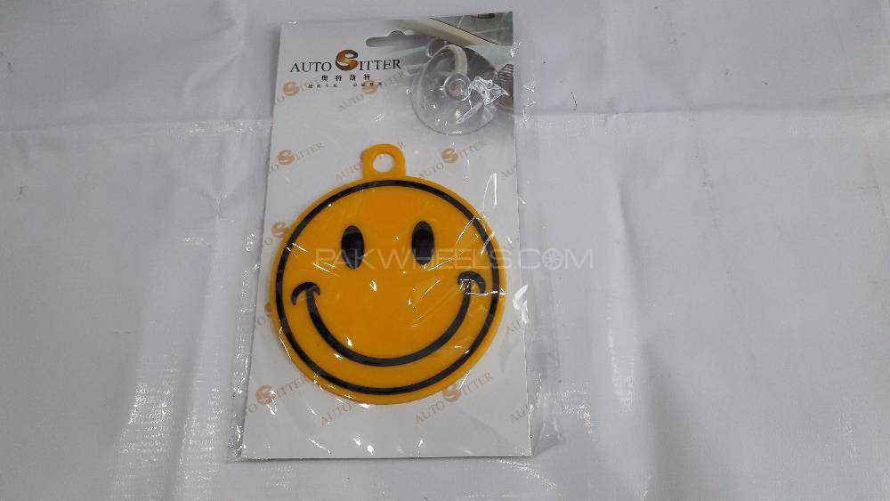 Hanging Tag For Windshield Smiley Image-1