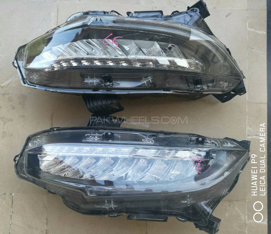 honda civic 2017 genuine led headlights for sale in lahore. Black Bedroom Furniture Sets. Home Design Ideas