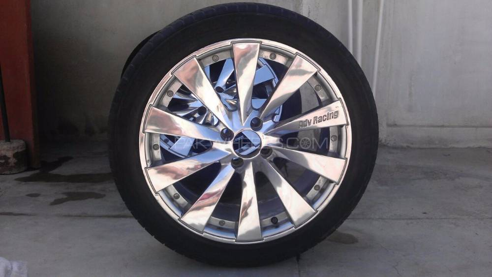 "Low profile 17"" rims + tires Image-1"