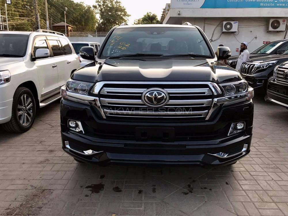 Toyota Land Cruiser Zx 2017 For Sale In Karachi Pakwheels