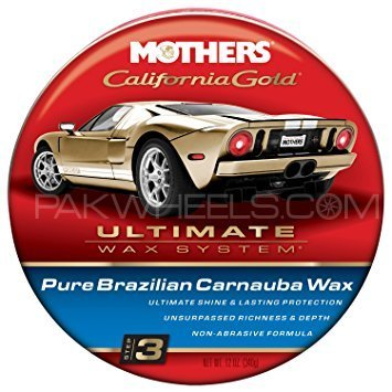 MOTHERS California Gold Natural Formula Paste Wax - 12oz in Lahore