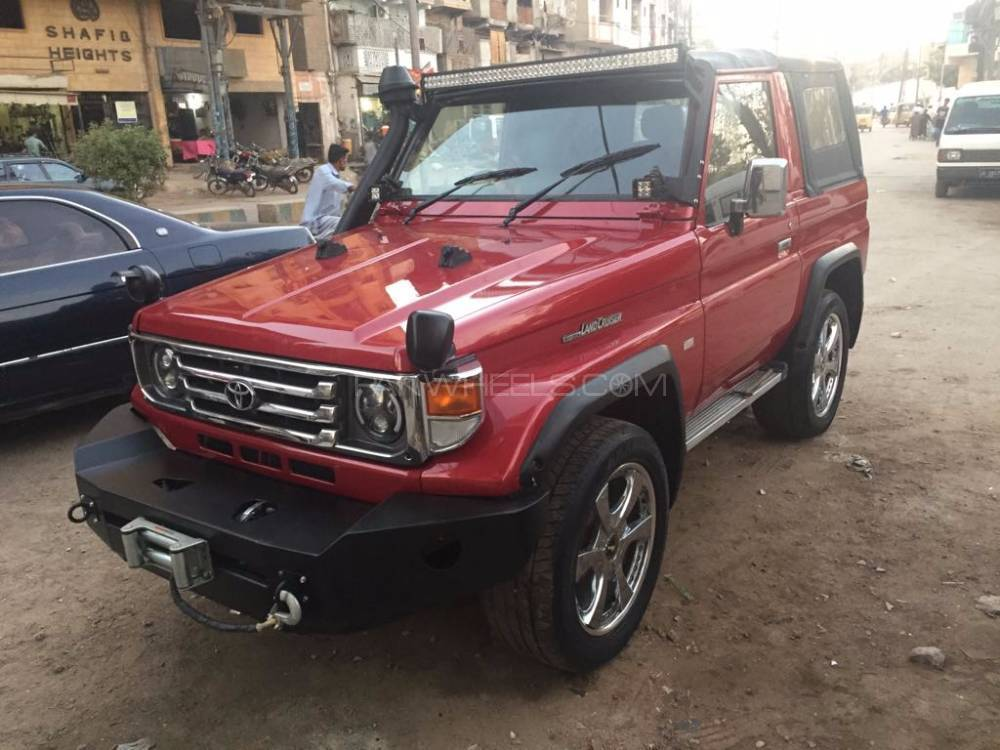 toyota land cruiser rkr 1989 for sale in karachi