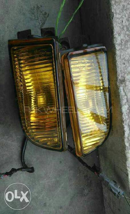 Toyota Corolla 1994 Bumper Foglights For Sell Image-1