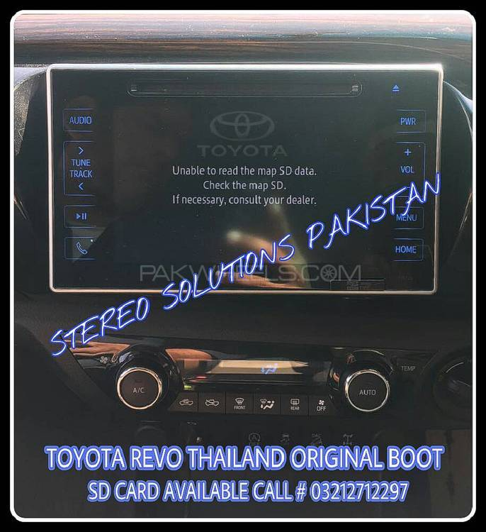 TOYOTA REVO MAP SD CARD  AVAILABLE. Image-1