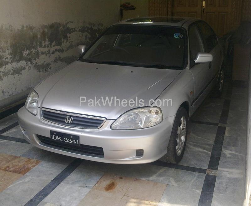 Honda Civic VTi Oriel Prosmatec 1.6 2000 Image-4