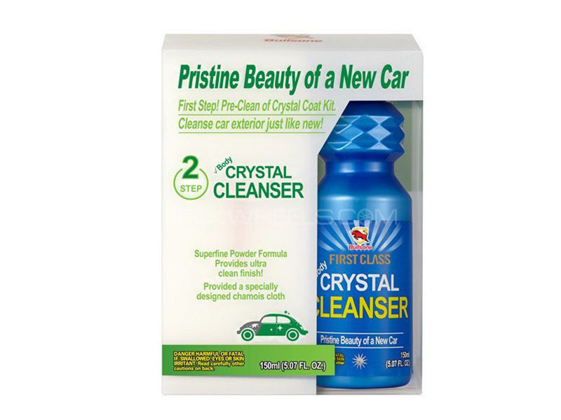 Bullsone First Class Crystal Cleanser + Sponge in Lahore