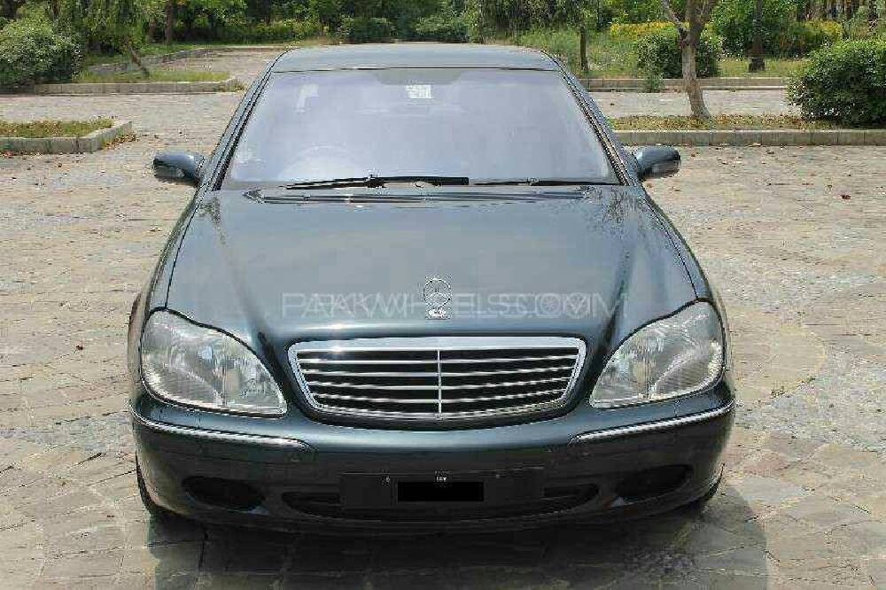 Mercedes Benz S Class S280 2002 Image-1