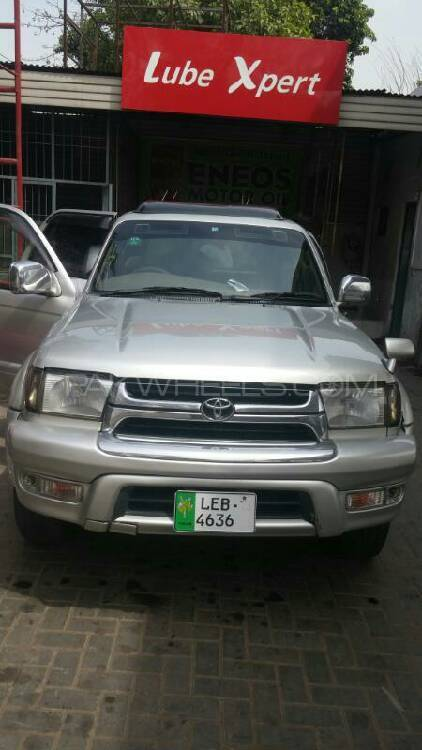 Toyota Surf Ssr X 2 7 1999 For Sale In Lahore Pakwheels
