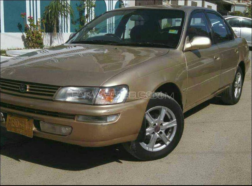 Toyota Corolla 1998 for sale in Karachi  PakWheels