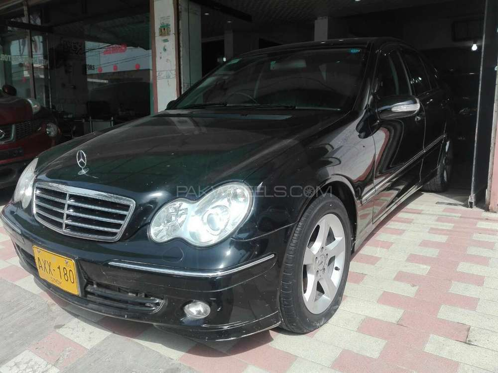 mercedes benz c class c180 2007 for sale in karachi pakwheels. Black Bedroom Furniture Sets. Home Design Ideas