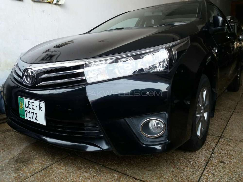 Used Corolla Cars For Sale In Pakistan