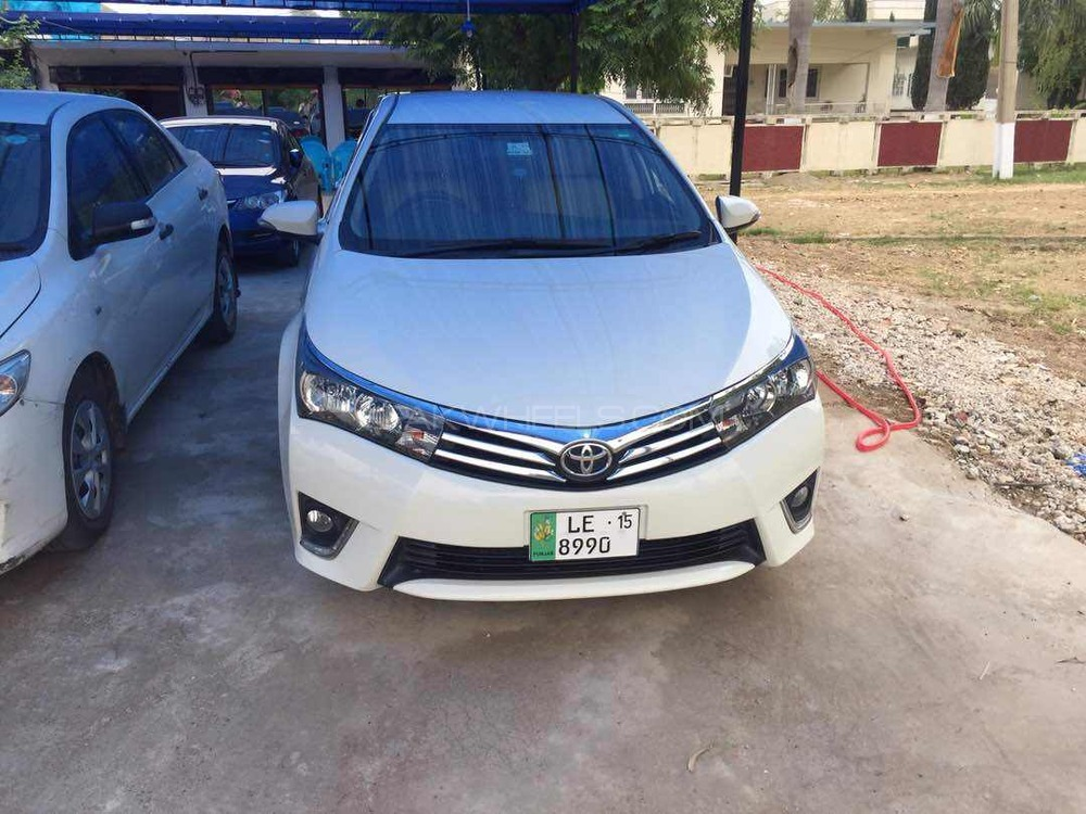 toyota corolla 2015 for sale in jehlum pakwheels. Black Bedroom Furniture Sets. Home Design Ideas