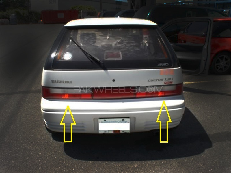 Suzuki Cultus Genuine Back Light LH+RH (Set) -35650/70-60E30 in Lahore