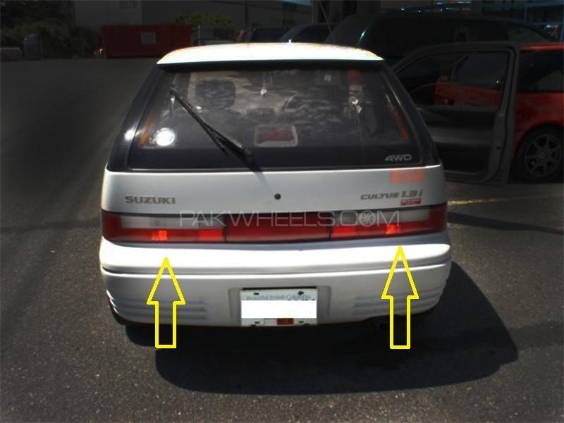 Suzuki Cultus Back Light LH+RH (Set)-Geniune -35650/70-60E30 Image-1