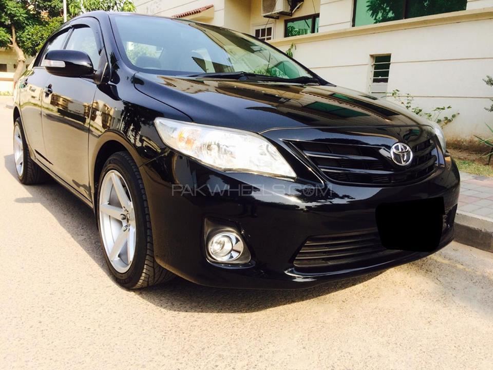 toyota corolla xli vvti 2009 for sale in islamabad pakwheels. Black Bedroom Furniture Sets. Home Design Ideas