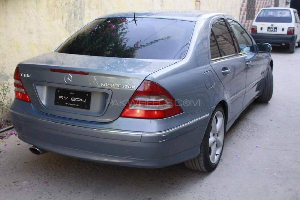 Mercedes benz c class c180 2006 for sale in islamabad for Mercedes benz c class 2006 for sale