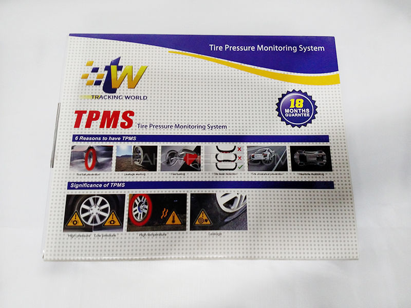 Tire Pressure Monitor System - TPMS in Lahore