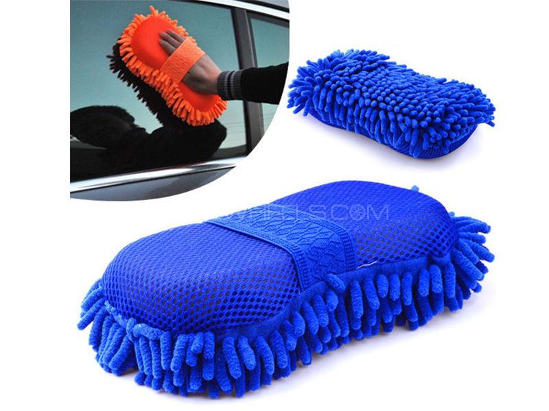 Car Wash Microfiber With Sponge  Image-1