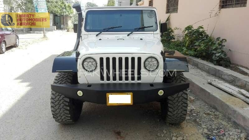 used jeep wrangler for sale at liberty automobiles karachi