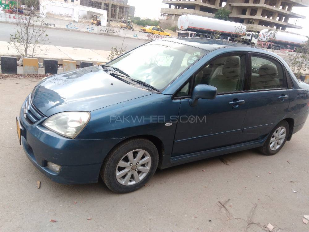 suzuki liana lxi cng 2008 for sale in karachi pakwheels. Black Bedroom Furniture Sets. Home Design Ideas
