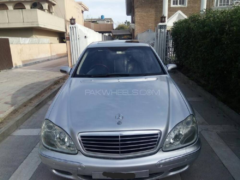 Mercedes benz s class s280 2001 for sale in islamabad for Mercedes benz s280 for sale