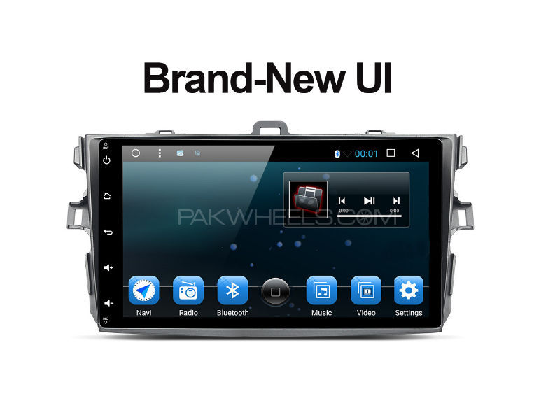 Premier Android Tab For Toyota Corolla 2009-2012 Image-1
