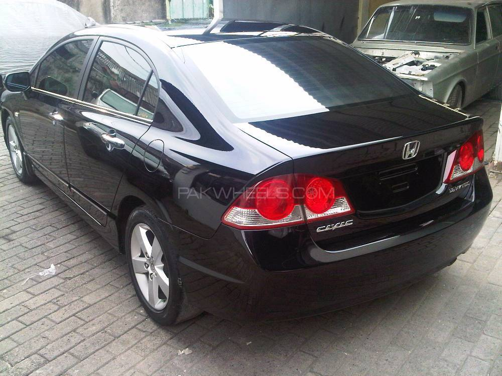 honda civic 2007 for sale in karachi pakwheels. Black Bedroom Furniture Sets. Home Design Ideas