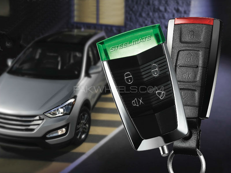 Car Alarm System Steel Mate S6086 in Lahore
