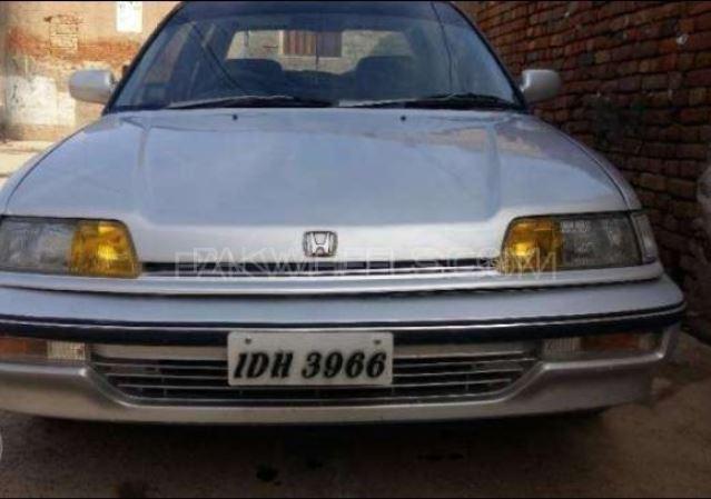 Honda Civic EX 1991 Image-1