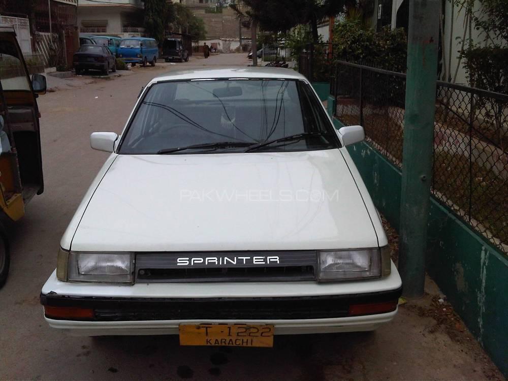 Toyota Sprinter 1987 Image-1