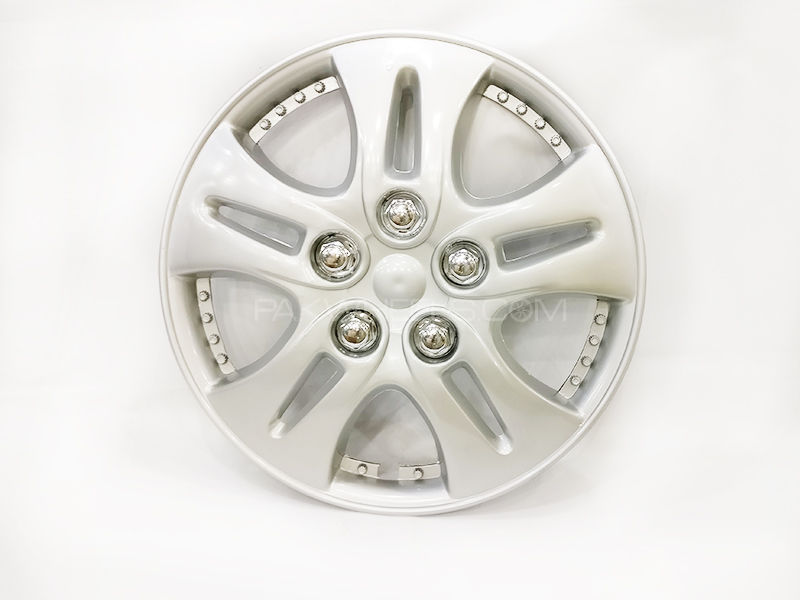 "X8 Wheels Cover for Suzuki 12"" - 06 Silver Image-1"