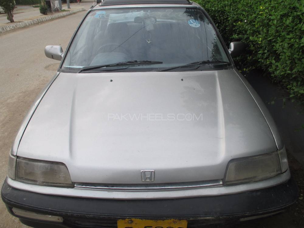 Honda Civic EX 1990 Image-1