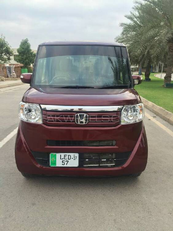 Honda N Box 2Tone Color Style - G Turbo L Package 2015 Image-1