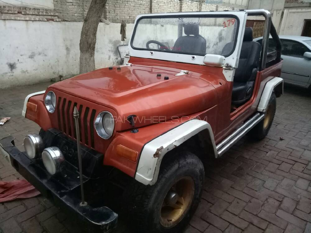 Jeep CJ 5 2.5 1982 Image-1