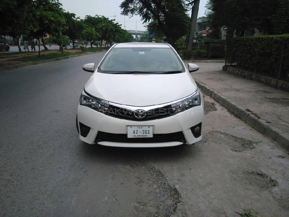 Toyota Corolla GLi 13 VVTi 2014 For Sale In Rawalpindi