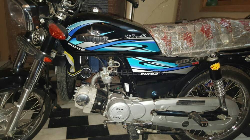 Used Unique UD 70 2017 Bike for sale in Karachi - 191448 ...