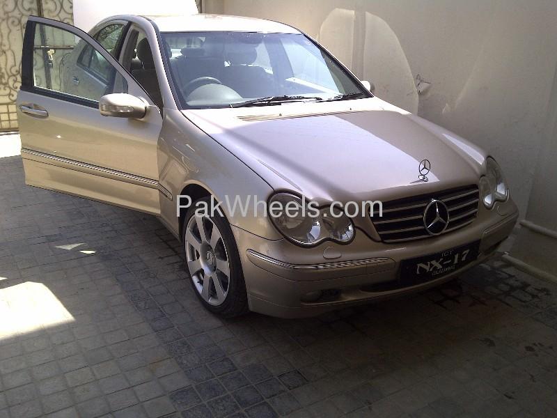 Mercedes Benz C Class C200 2002 Image-1
