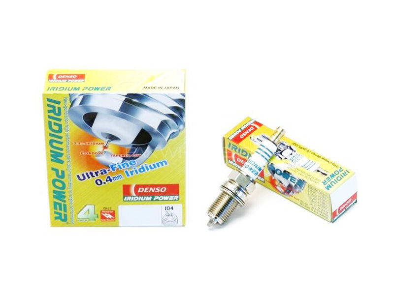 Iridium Spark Plug Genuine Denso IK20- 4pcs in Lahore