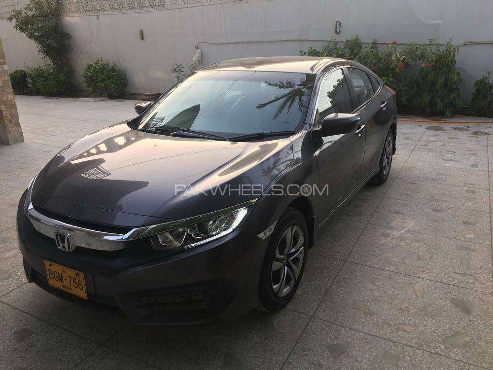 honda civic 1 8 i vtec cvt 2016 for sale in karachi pakwheels. Black Bedroom Furniture Sets. Home Design Ideas