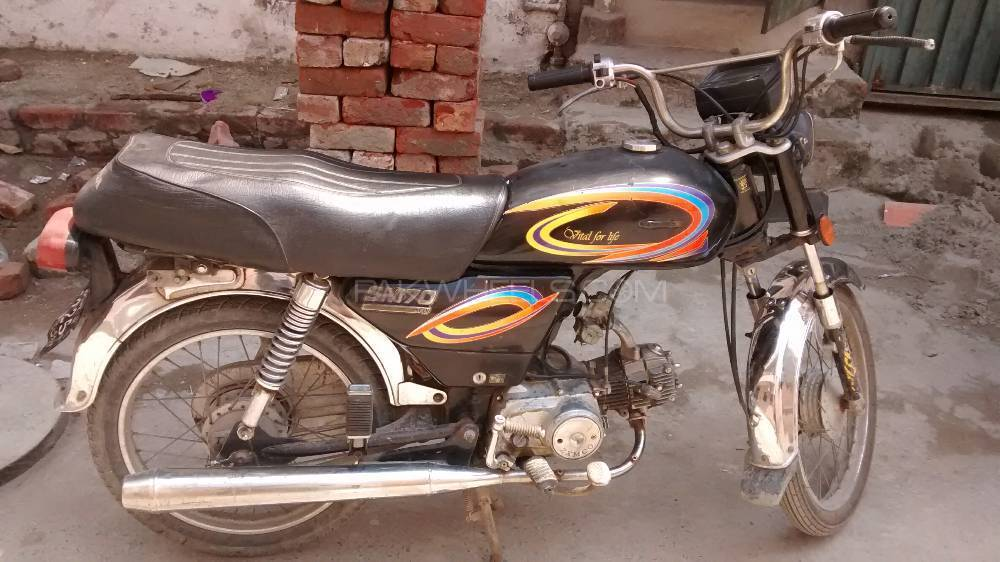 Used Sonica SM 70 2007 Bike For Sale In Lahore