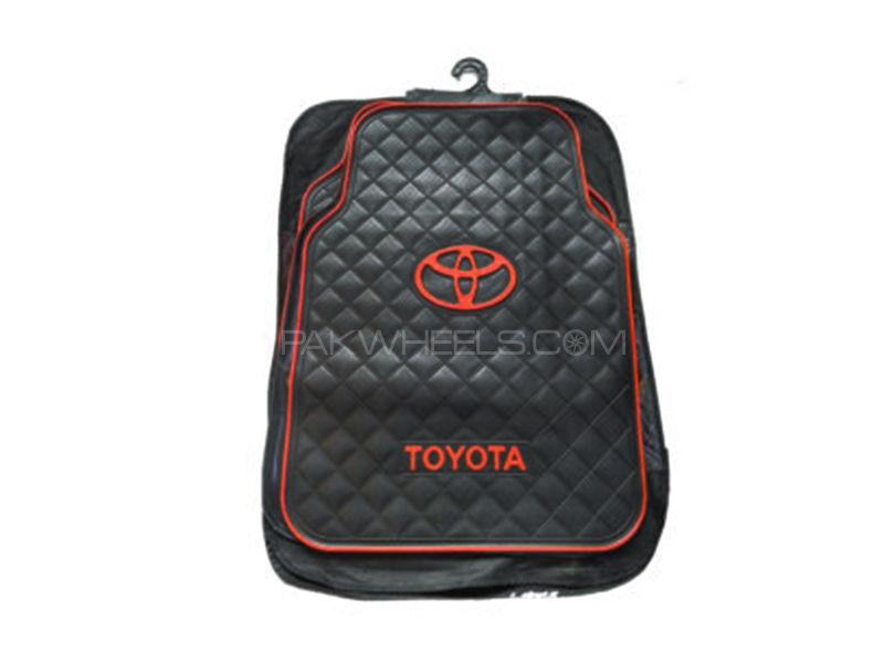 Universal Rubber Floor Mats - Toyota in Lahore