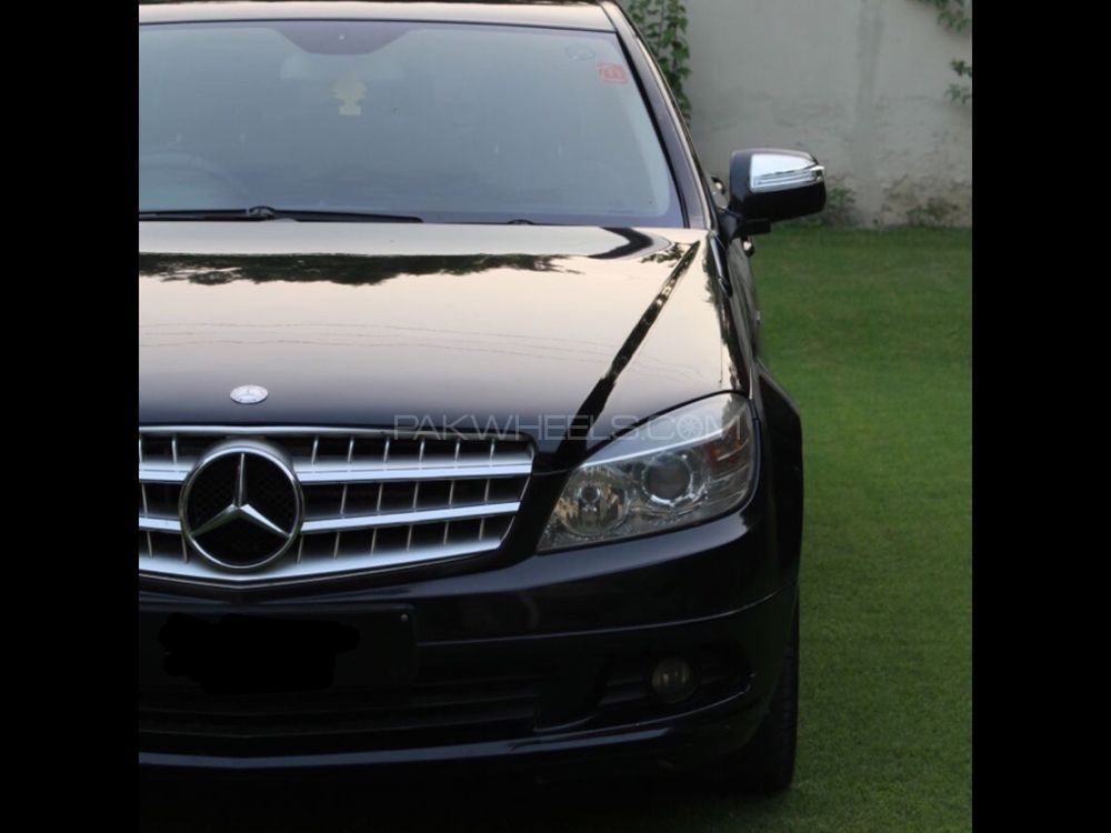 mercedes benz c class c200 2007 for sale in nowshera cantt pakwheels. Black Bedroom Furniture Sets. Home Design Ideas