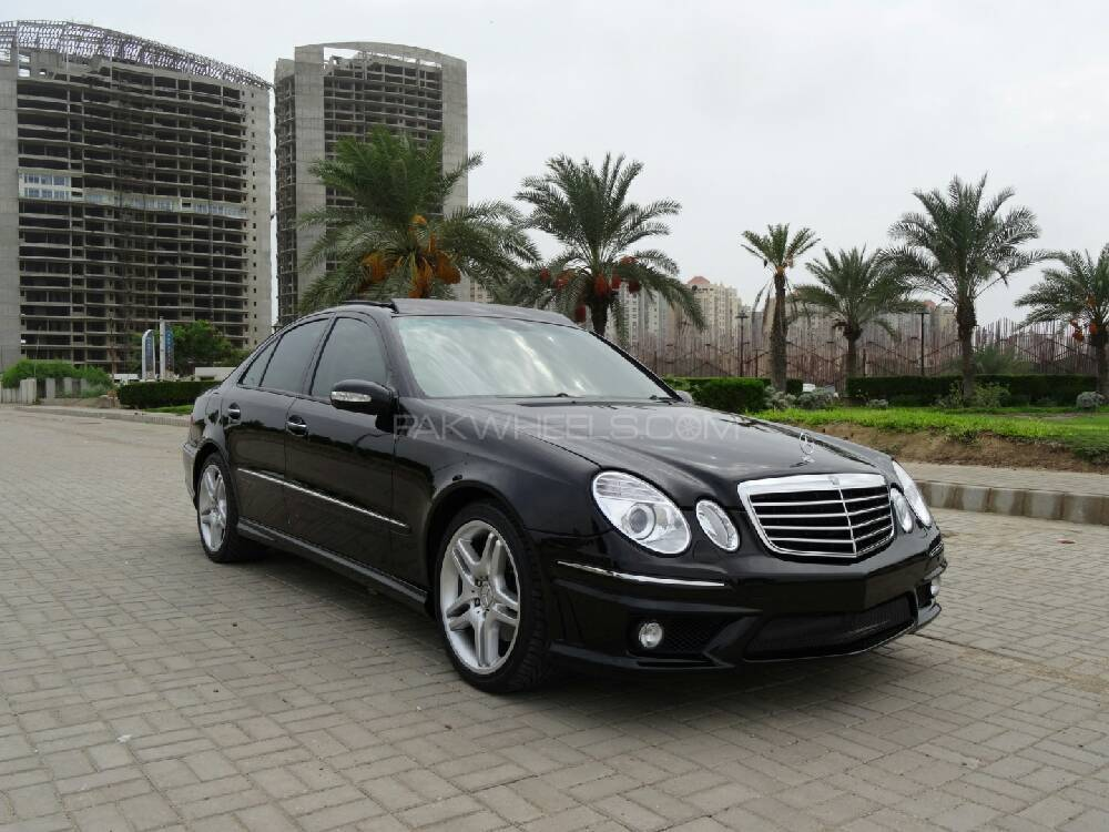 mercedes benz e class e 500 2004 for sale in karachi pakwheels. Black Bedroom Furniture Sets. Home Design Ideas