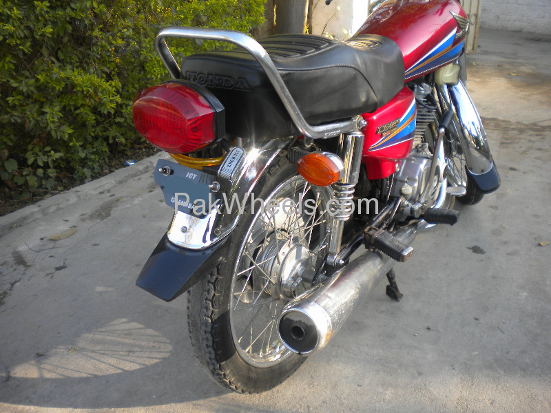 Used Honda CG-125 2008 Bike for sale in Islamabad - Used Bike 99831 - 1764602