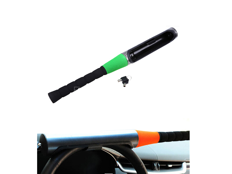 Baseball Bat Style Steering Lock in Lahore