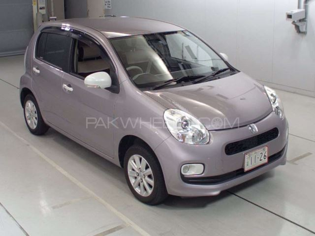 Toyota Passo + Hana Apricot Collection 1.0 2014 Image-1