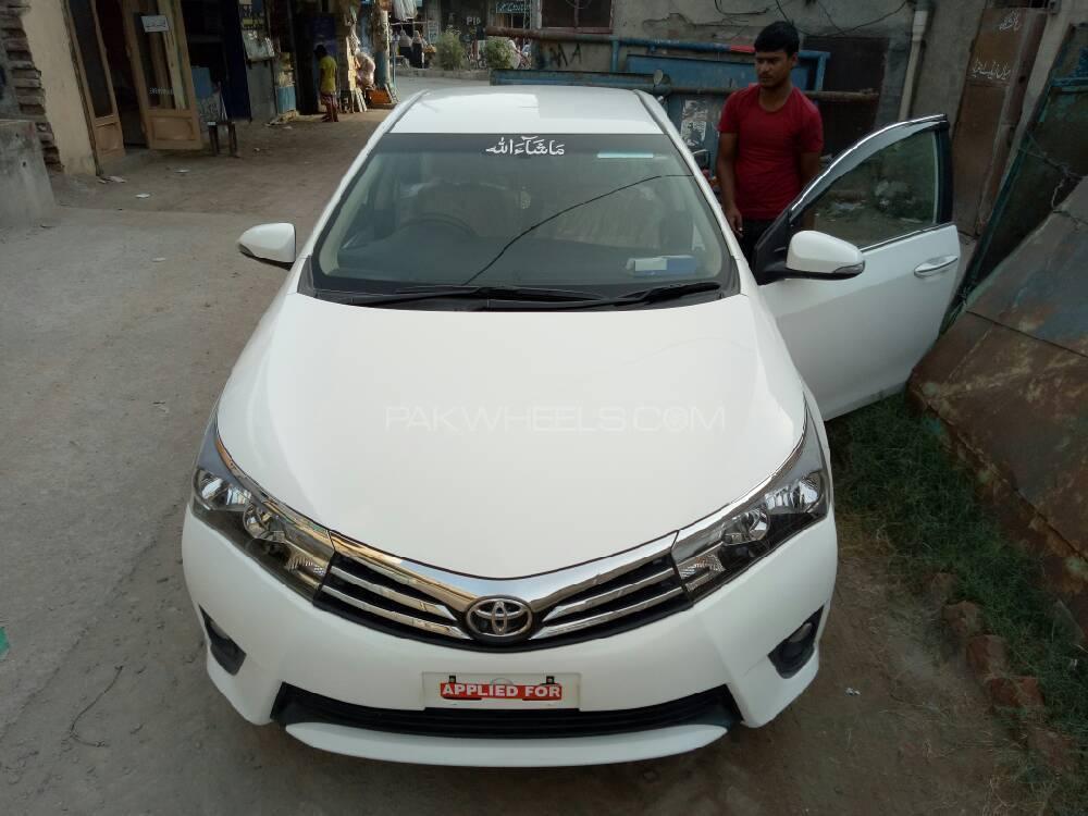 Toyota Corolla Altis 1.8 2017 Image-1