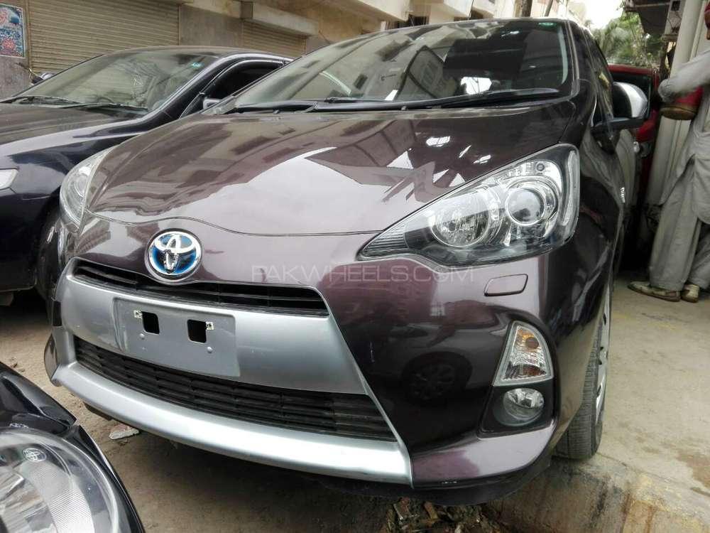 Toyota Aqua G LED Soft Leather Selection  2014 Image-1
