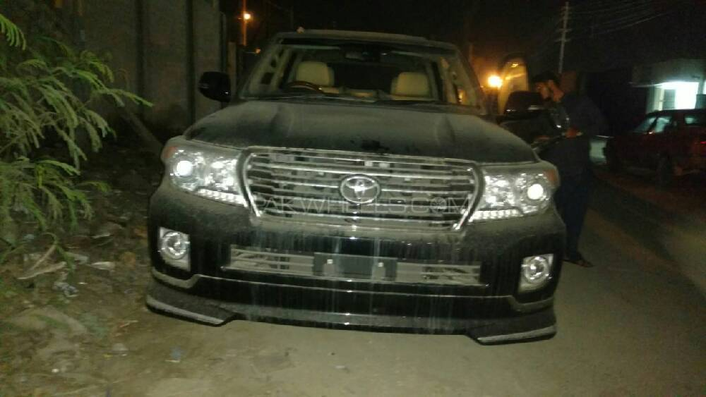 toyota land cruiser zx 2014 for sale in lahore pakwheels. Black Bedroom Furniture Sets. Home Design Ideas