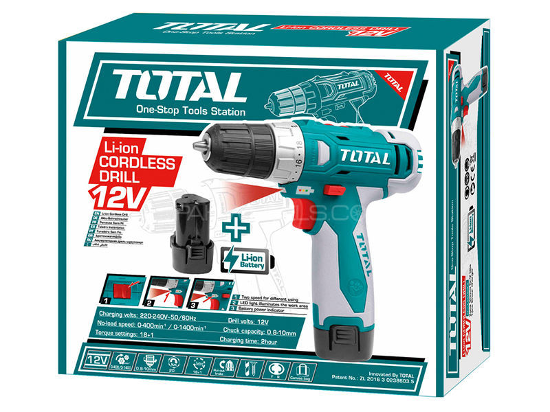 TOTAL Impact Wrench 12v in Lahore